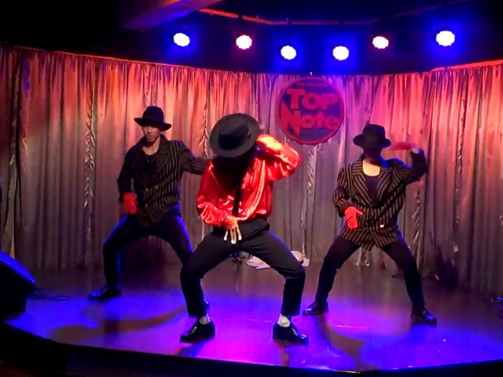 【動画】Eichael Jackson Performance in TOPNOTE