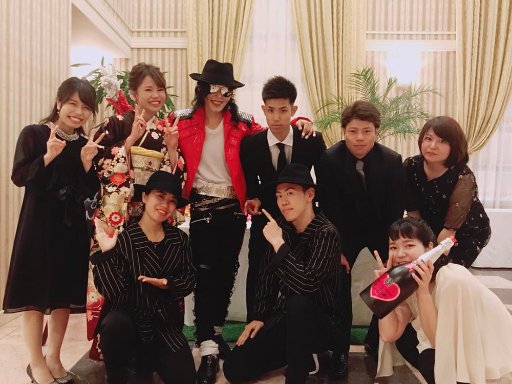 【動画】Eichael Jackson performance with フラッシュモブ