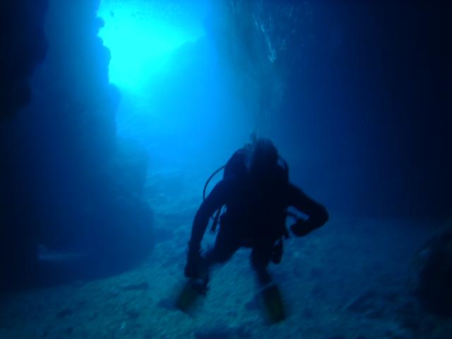 青の洞窟 真栄田岬