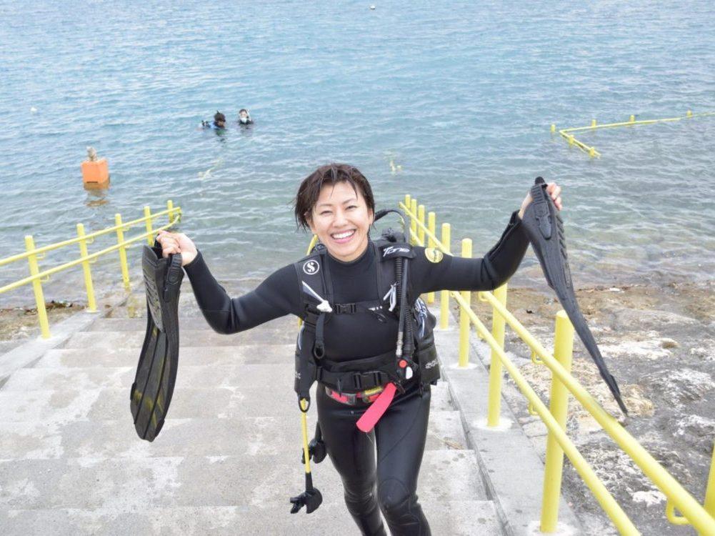 沖縄本島でレスキューダイバーになろう