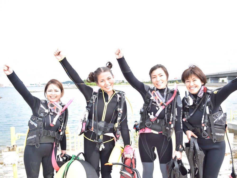 那覇で体験ダイビングに挑戦!