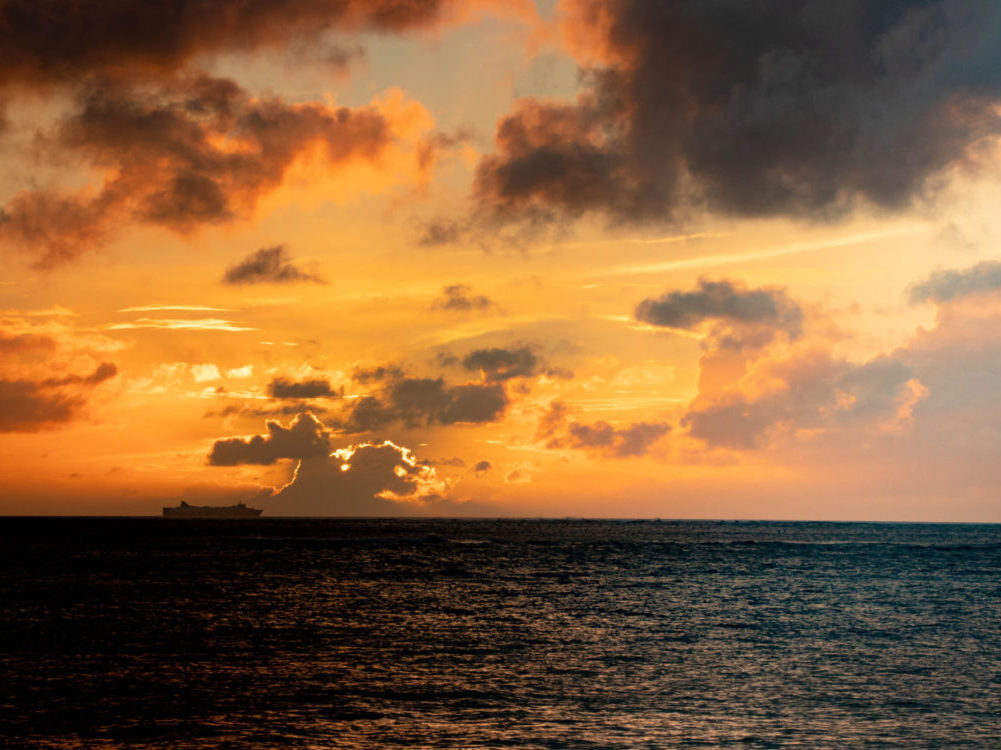夕日のきれいなスポット