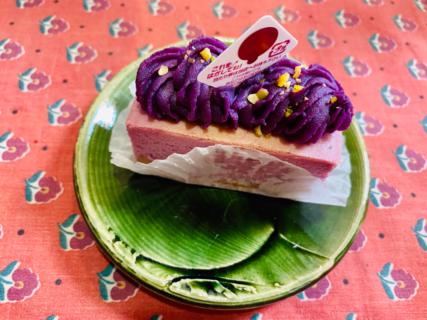 紅芋好き必見!絶品紅芋チーズケーキ(うるま市)
